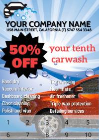 Carwash Flyer