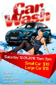 car wash poster templates postermywall
