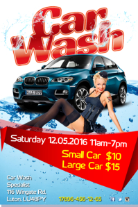High Quality Carwash Flyer. Multipurpose Business Price List Template