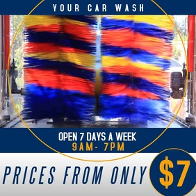 CARWASH logo icon template