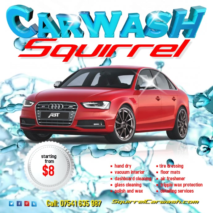 Carwash Video Template