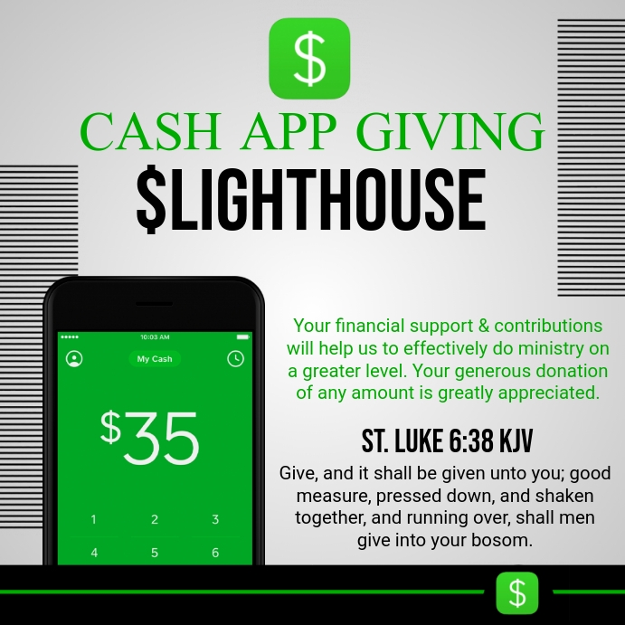 Cash App Giving Pos Instagram template