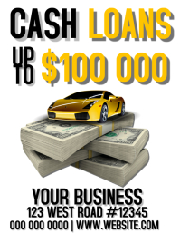 CASH LOAN FLYER