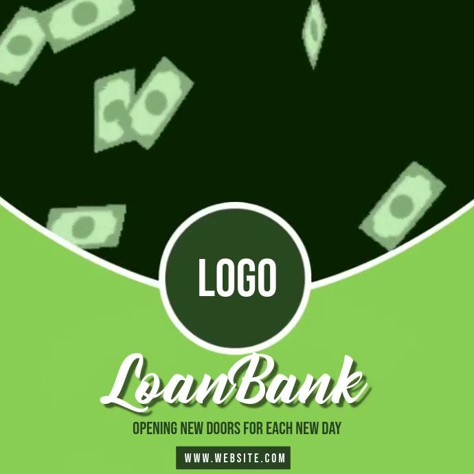cash loans ad SOCIAL MEDIA TEMPLATE 方形(1:1)