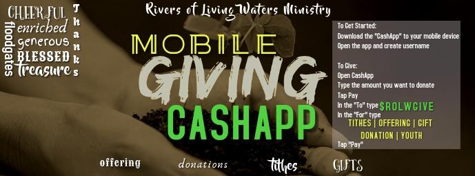 CashApp Foto Sampul Facebook template