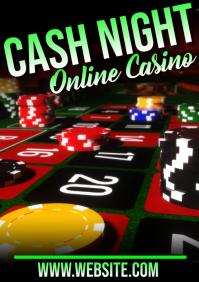casino A5 template