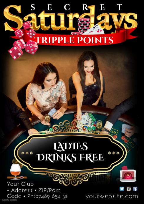 Casino Event Poster
