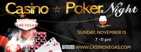 casino fb Portada de Facebook template