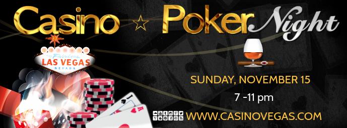 casino fb Couverture Facebook template