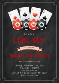 Casino Night Banner