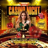 Casino Night Iphosti le-Instagram template