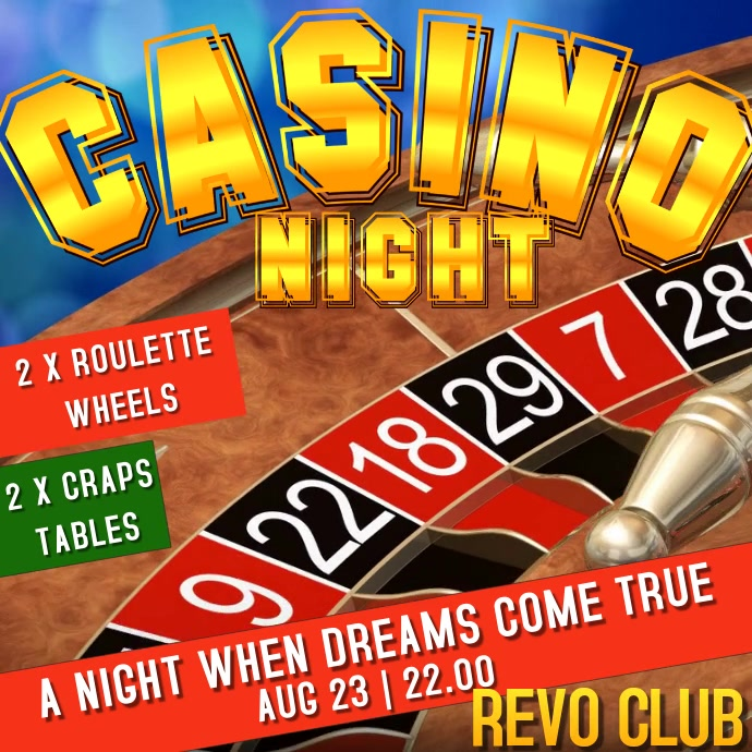 Casino Night Event Promo Video