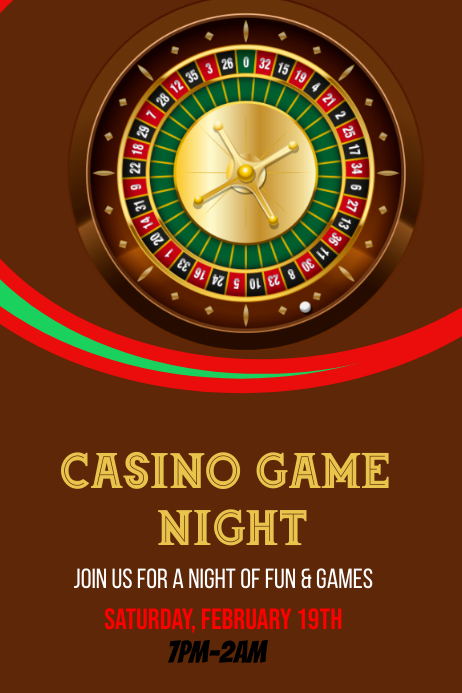 Casino Night Template
