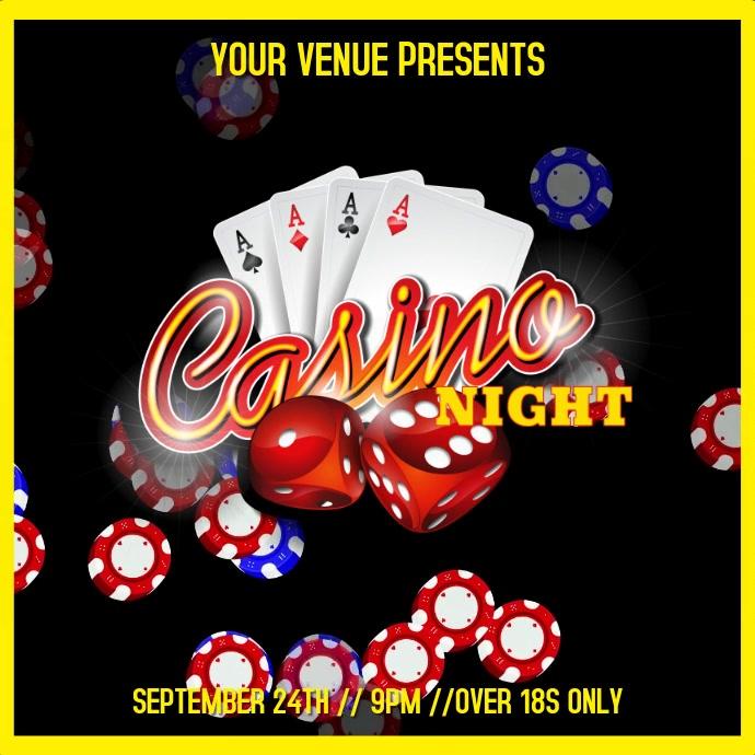 Casino Night Video Template