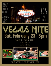 CASINO PARTY INVITATION