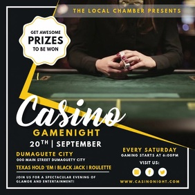 Casino Poker Night Online Ad