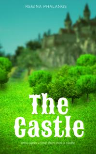 Castle fantasy tale book Cover Template Sampul Buku