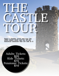 Castle Flyer Template
