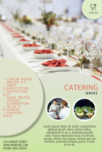 Catering Cooking Flyer Template