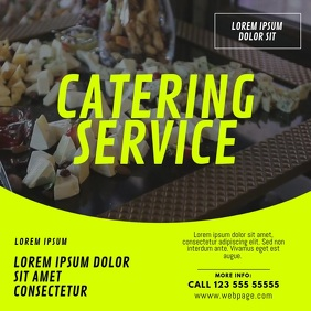 Catering Food Restaurant Service video design