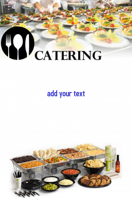 catering template
