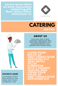 Catering Service flyer template