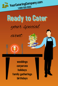 Catering services/parties/menus/feast/food
