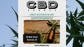 CBD Oil Facebook Cover Video
