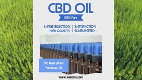 CBD Oil Facebook Cover Video