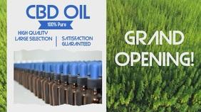 CBD Oil Grand Opening Video