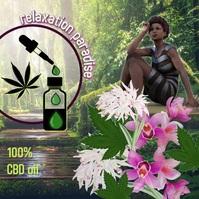 CBD oil/hemp/cannabis/natural shop/relax Instagram-bericht template