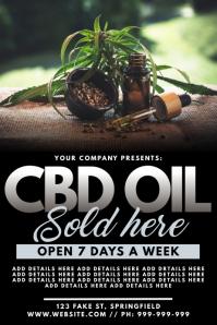 CBD Oil Poster