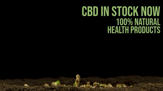 CBD Oil Promo Video Template
