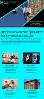 CCTV Company Business Flyer template Rack Card