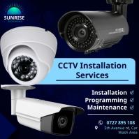 CCTV Publicación de Instagram template