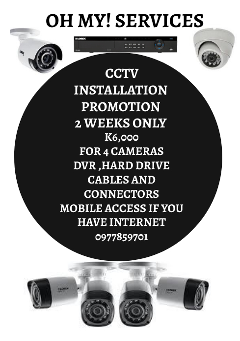 CCTV INSTALLATION A4 template