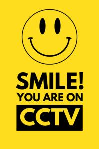 CCTV Smile Flyer