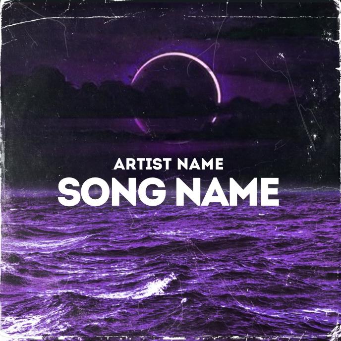 CD Album / Mixtape Cover Design Template