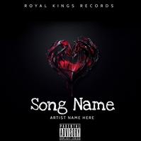 Cd cover Sampul Album template