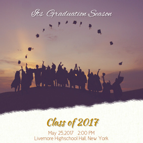 Graduation Instagram Post Template
