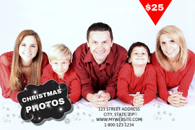 Christmas Photograph Sales Event Template