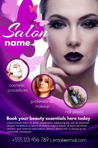 Custom Beauty Salon Posters - Free Templates | PosterMyWall