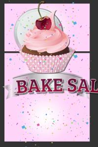 customizable design templates for bake sale postermywall rh postermywall com bake sale flyer sample blank bake