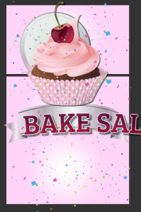 customizable design templates for bake sale postermywall