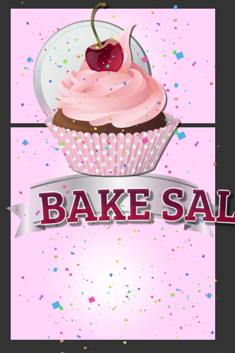 Classroom Design For Valentines Day ~ Bake sale template postermywall