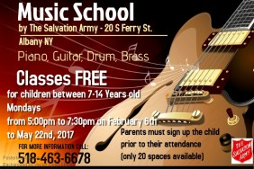 Music School at The Salvation Army