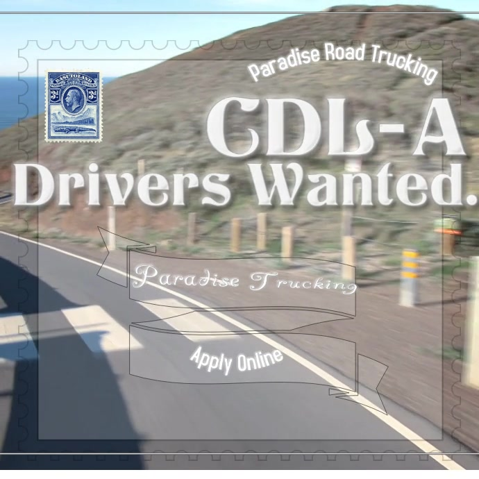 CDL-A drivers wanted