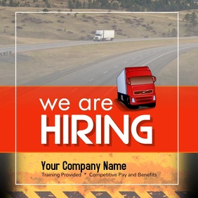 CDL Drivers wanted Instagram