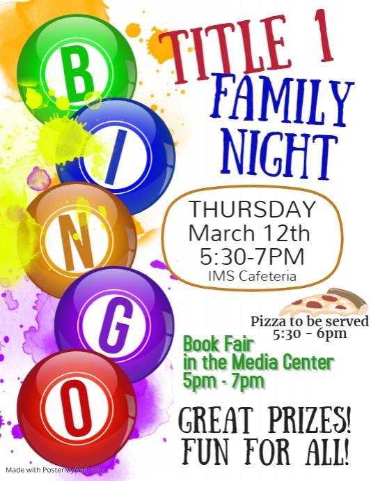 Copy of Bingo Night Flyer