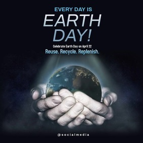 Celebrate Earth Day Template